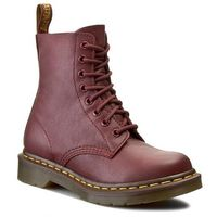 Botki - pascal 13512411 cherry red, Dr. martens, 36-40