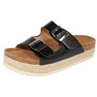 Refresh sandały z rzemykami '69926' czarny