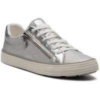Sneakersy - 5-23615-22 silver snake 948, S.oliver