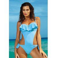 Jednoczęściowy strój kąpielowy Kostium kąpielowy Model Carmen Skipper M-468 Sky Blue - Marko, jednoczęściowy