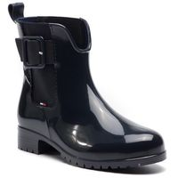 Kalosze TOMMY HILFIGER - Sporty Color Mix Rain Boot FW0FW04101 Rwb 020, w 7 rozmiarach