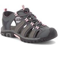 Sandały HI-TEC - Eritio AVSSS18-HT-01-Q2 Pink/Carbon Grey/Dark Grey, kolor szary