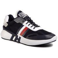 Tommy hilfiger Sneakersy - tommy sporty branded runner fw0fw04700 desert sky dw5