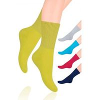 Skarpety fitness damskie art.127 rozmiar: 35-37, kolor: oliwkowy, steven marki Steven