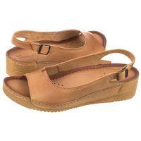 Sandały Maciejka Brązowe/Camel 01974-30/00-5 (MA73-j), kolor brązowy