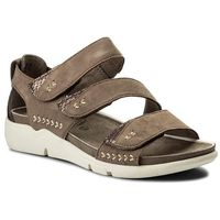 Sandały JANA - 8-28600-20 Taupe Suede 377, 1 rozmiar