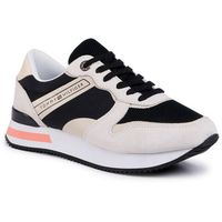 Sneakersy TOMMY HILFIGER - Feminine Active City Sneaker FW0FW04696 Black BDS, w 5 rozmiarach