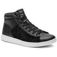 Sneakersy - carnaby evo mid 318 1 spw 7-36spw0017312 blk/wht, Lacoste, 35.5-41