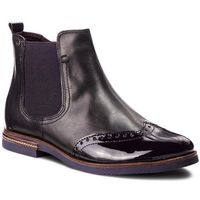 Tamaris Botki - 1-25027-31 black/plum 054