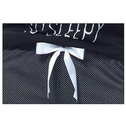 Piżama damska wiwa italion fashion - czarny marki Italian fashion