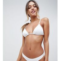 South Beach Exclusive mix and match hipster bikini bottom in white - White, kolor biały