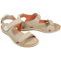 Geox d52r6a sandal vega a c5000 beige, sandały damskie - beżowy