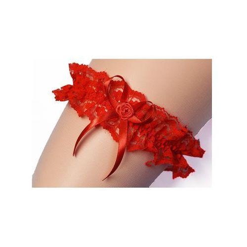 Enjoy Podwiązka aneta 2 uniwersalny, czerwony, enjoy
