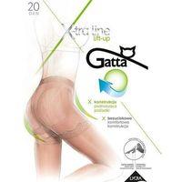 Rajstopy Gatta Body Lift-up 20 den daino/odc.beżowego - daino/odc.beżowego, kolor beżowy