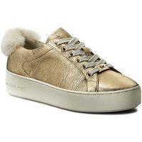 Sneakersy MICHAEL KORS - Poppy Lace Up 43F7POFS1M Pale Goldlk, kolor żółty