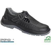 Sandały robocze czarne Strzelce Opolskie BPPOS41 BS 47, 1 rozmiar