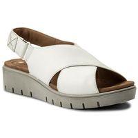 Clarks Sandały - un kerely hail 261322354 white leather