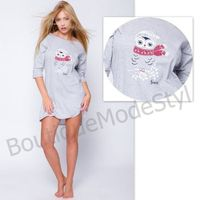 koszulka nocna snowy owl, Sensis