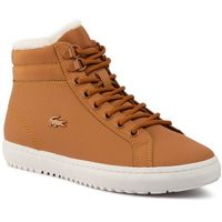 Sneakersy LACOSTE - Straightset Thermo 4191 Cfa 7-38CFA0005F57 Tan/Off Wht