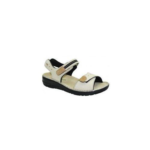 Sandały damskie leni 03102-712 marki Berkemann