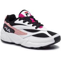 Sneakersy - v94m low wmn 1010600.91p white/black/quartz pink marki Fila