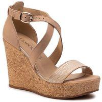Sandały - 2190-03 beige, Lasocki, 36-40