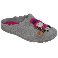 Kapcie pantofle domowe ciapy 320429-9 popielate - szary ||popielaty ||multikolor, Manitu