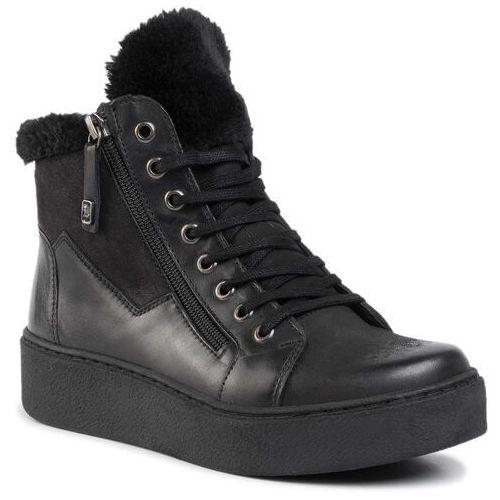 Botki - wi23-pegi-10 black marki Lasocki