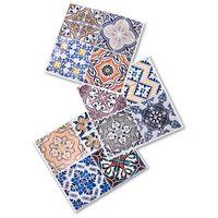 """Naklejki płytki """"Maroko"""" (12 szt.) bonprix kolorowy"""