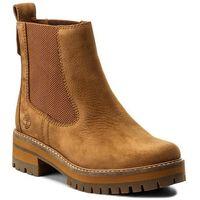 Sztyblety TIMBERLAND - Courmayeur Valley Ch A1J5J Sundance, kolor brązowy