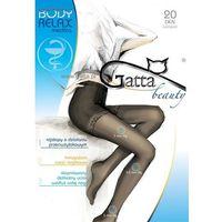 Rajstopy body relax medica 20 den 2-4 4-l, grafitowy/fumo, gatta marki Gatta