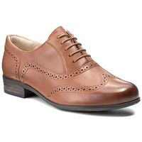Clarks Oxfordy - hamble oak 203506744 dark tan leather