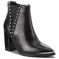 Botki STEVE MADDEN - Himmer Ankleboot SM11000069-03001-017 Black Leather, 37-40