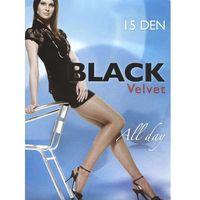 """Rajstopy Egeo Black Velvet 15 den """"24h 2-S, brązowy/castoro, Egeo, kolor brązowy"""