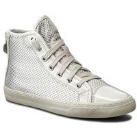 Sneakersy GEOX - D N.Club E D5458E 0GNHH C1661 Ecri/Stazony Biały, w 4 rozmiarach