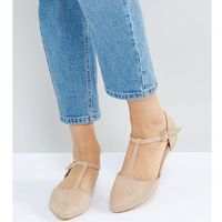 wide fit pointed ballet flats - beige marki London rebel