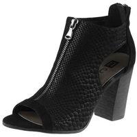 Sandały 81406 - czarne an, Nessi