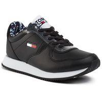 Sneakersy TOMMY JEANS - Wmns Casual Tommy Jeans Sneaker EN0EN00719 Black BDS