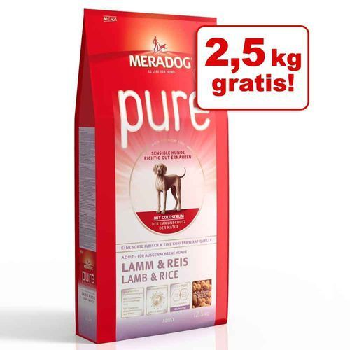 10 + 2,5 gratis! Mera Dog, 12,5 kg - Reference