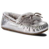 Kapcie EMU AUSTRALIA - Amity Cuff Crackled W11853 Silver/Argent