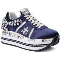 Sneakersy PREMIATA - Beth 3653 Granatowy, kolor niebieski