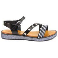 Sandały damskie Venezia M728D, kolor czarny