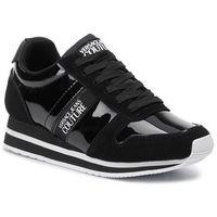 Versace Sneakersy jeans couture - e0vubsa1 nero 71173 899