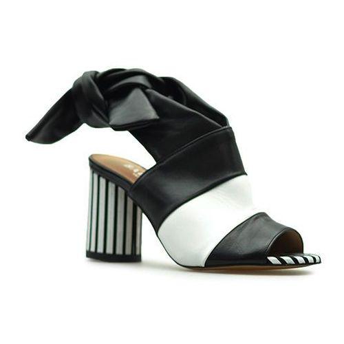 Badura Sandały 7787-69 czarne lico