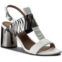 Sandały BALDOWSKI - D02209-4400-001 Nappa Biała, w 5 rozmiarach