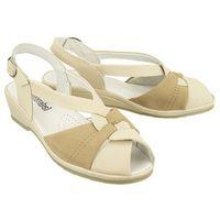 710122-8 beige, sandały damskie marki Comfortabel