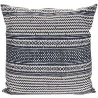 Poduszka ze wzorem, dekoracyjna, 80 x 80 cm, bawełniana