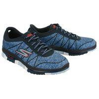 SKECHERS 14011 NAVY/BLUE, półbuty sportowe damskie, kolor niebieski