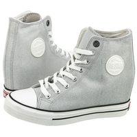 Sneakersy białe brokatowe w274672 (bi53-a) marki Big star