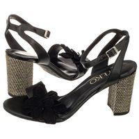 Sandały Ryłko Czarne 9HH94_T4 _ZA5F (RY13-a), w 4 rozmiarach